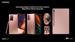 Samsung Galaxy cautiva con cinco nuevos dispositivos llenos de poder