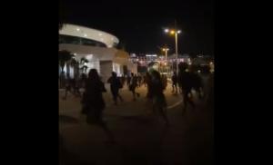 Falso rumor de tiroteo causó pánico en las calles de Cannes (Videos)