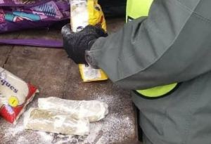 La descubrieron en Táchira con medio kilo de cocaína oculto en paquetes de harina (Fotos)