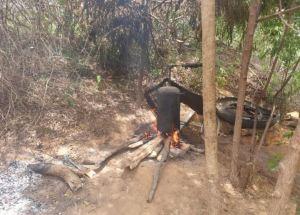 Desmantelaron un laboratorio clandestino para destilación de petróleo en Zulia (Fotos)