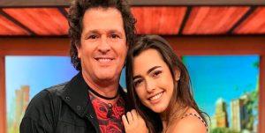 Hija de Carlos Vives dejó su retaguardia al aire por una buena causa