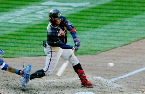 Ronald Acuña Jr. despachó jonrón en triunfo de Bravos sobre Mets (Video)