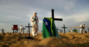 La pandemia en Brasil se sigue cobrando vidas tras reportar 661 nuevas muertes