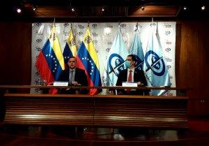 Saab y Arreaza unen fuerzas pa' ver si sus quejas sobre el informe de ONU son escuchadas