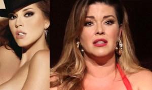 Solo para adultos: Alicia Machado vuelve a desnudarse para la revista Playboy