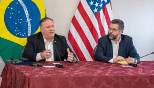 Pompeo y Brasil firman compromiso para seguir apoyando crisis venezolana (FOTOS)