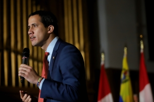 President (e) Guaidó reiterates his call for unity to confront and defeat Maduro's dictatorship