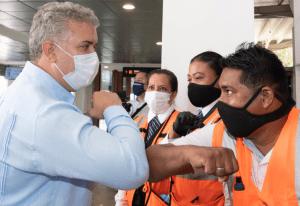 Colombia reactivó los vuelos comerciales internacionales tras casi seis meses de interrupción