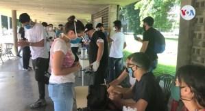 Estudiantes universitarios de Venezuela cuestionaron el regreso a clases a distancia