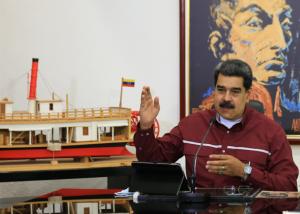 """Por enésima vez, Maduro desató otra novela de supuestas """"operaciones encubiertas"""" en su contra"""