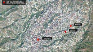 HRW alertó que Azerbaiyán usó munición de racimo en áreas residenciales de Nagorno Karabaj