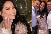 """""""Para siempre"""": Norkys Batista se casó con el empresario que le pidió matrimonio desnudo en Los Roques"""