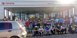 Así se encuentra la sede del Saime en Puerto Ordaz por operativo de cedulación #19Oct (FOTOS)