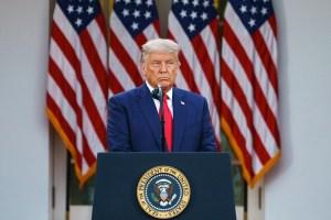 """Trump dijo que tiene pruebas del """"fraude"""" y pidió a republicanos revertir las elecciones"""