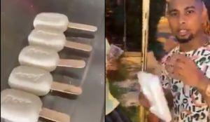 ¿Influencer o imbécil? Regaló helados hechos de jabón a dos abuelitos y provoca la furia de Internet (VIDEO)