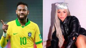 Quién es la DIVINA cantante brasileña que tendría una relación abierta con Neymar (Fotos)