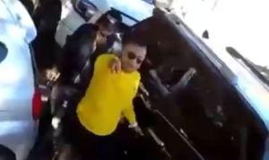 """""""Te voy a tirotear"""": Diputado al show electoral emprendió acalorada discución en plena vía pública (VIDEO)"""