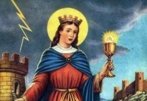 Hoy #4Dic es el Día de Santa Bárbara y por qué nos acordamos de ella cuando truena