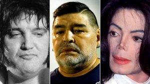 Maradona, Elvis y Michael Jackson: El trágico final y las sospechas que relacionan a sus médicos con sus muertes