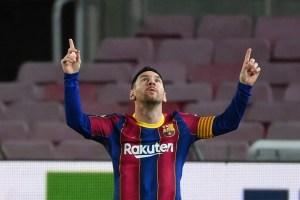 ¡JAJAJA! Quiso agarrar a Messi en velocidad, quedó en ridículo y se hizo viral (Video + MEMES)