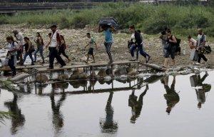 """La historia detrás de los """"Trocheros de la Autopista"""" de La Parada en Cúcuta"""