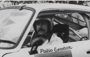 El oficio secreto de Pablo Escobar como piloto de carreras