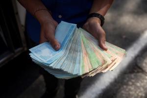 En Venezuela el millón de bolívares se pulverizó por la hiperinflación