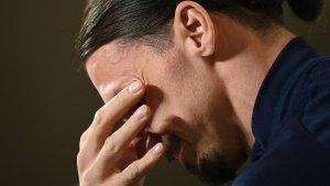 Zlatan Ibrahimovic se queda sin Eurocopa por una lesión en la rodilla izquierda