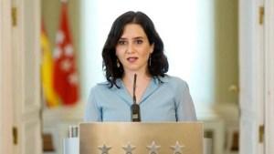 Isabel Díaz Ayuso expresó su apoyo al diario El Nacional tras embargo