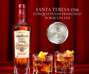 ¡Orgullo criollo! Ron Santa Teresa conquistó San Francisco por sexta vez