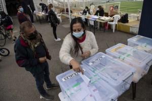 Elecciones constituyentes en Chile: Los primeros datos del escrutinio