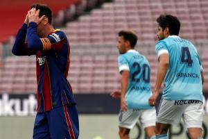 Un Barcelona triste dijo adiós a LaLiga con una derrota ante el Celta