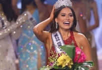 Andrea Meza, Miss México, se convirtió en la nueva Miss Universo
