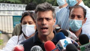 Leopoldo López anuncia demanda contra Humberto Calderón Berti por calumnias y ataques infundados