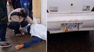 Tragedia en Táchira: Falleció un taxista de 70 años mientras esperaba su turno para recargar gasolina