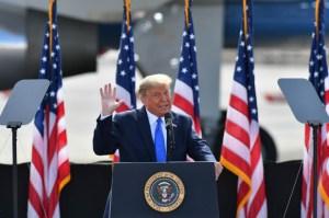 Trump encabezará convención republicana de Carolina del Norte en junio