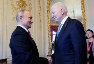 Finaliza la cumbre entre Biden y Putin en Ginebra