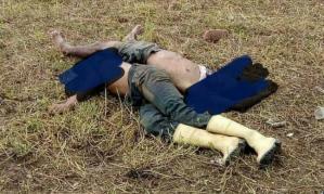 Hallaron dos cadáveres con múltiples impactos de bala en Miranda