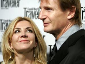 Amor más allá de la muerte: Liam Neeson llora a su mujer cada día desde hace 13 años