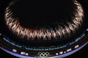 """EN FOTOS: La """"sencilla"""" y colorida ceremonia inaugural de los JJOO Tokio 2020"""