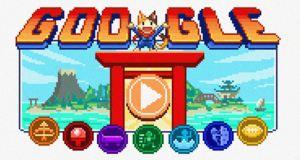 """Google celebra el inicio de los JJOO con un """"doodle"""" en forma de videojuego (VIDEO)"""