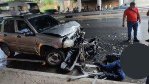 Falleció motorizado en Petare tras ser embestido mientras escampaba