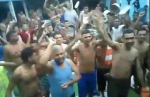 Presos del retén de San Carlos se amotinaron para denunciar retardos procesales (Video)