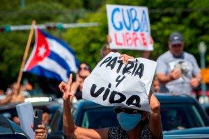 Exilio cubano pidió más sanciones de EEUU y la Unión Europea contra la dictadura por la represión a las protestas