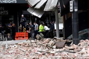 VIDEOS: Sismo superficial de magnitud 5,8 sacudió el sureste de Australia