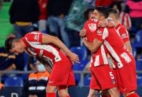Luis Suárez selló la remontada del Atlético de Madrid ante Getafe