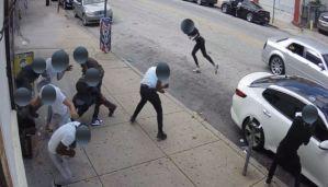 Desde un vehículo balearon al menos a seis personas en una calle de Filadelfia (Video)