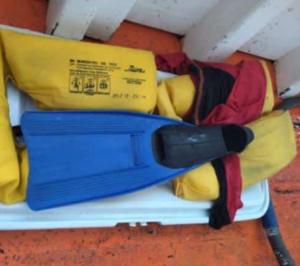 Sobreviviente de naufragio del Don Rafa Junior llegó a Los Roques flotando con una cava