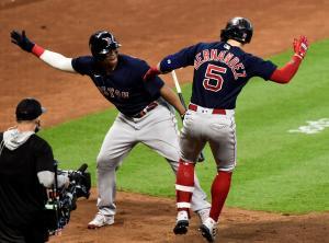 Medias Rojas hicieron historia con dos grand slams en juego contra Astros