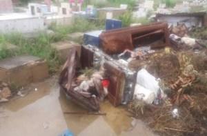 Destrucción e inseguridad: Así se encuentra el cementerio municipal de Cabimas (Fotos)